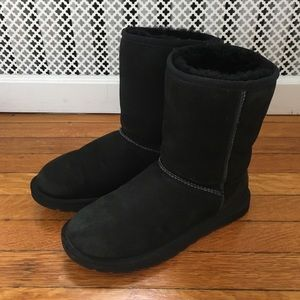 Short Black Ugg Boots